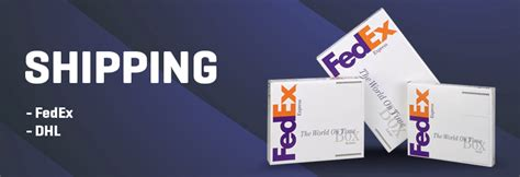 Los Angeles Shipping Services Printing Fly Fedex Banner Template
