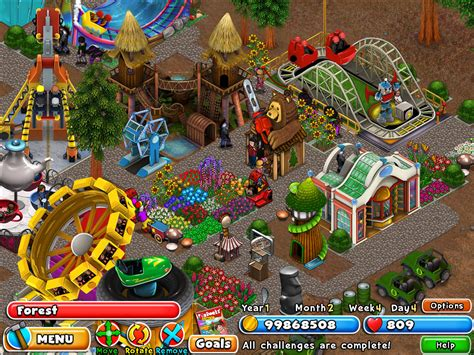 download theme park pc game dream builder amusement park download and play on pc