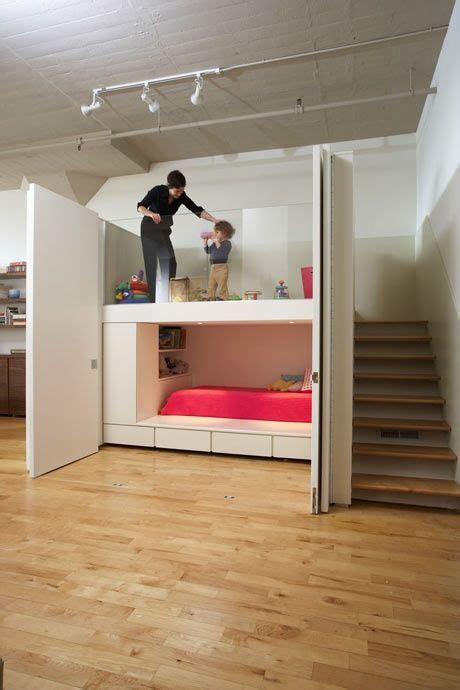 loft beds for studio apartments built in bunk loft someday some place pinterest