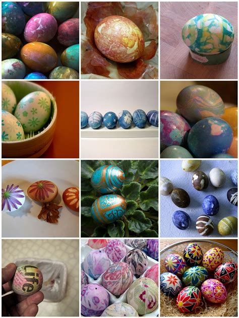 easter egg dye ideas dabbled easter eggs 12 interesting ways to color paint