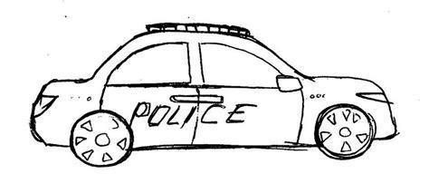 imagenes a blanco y negro de carros c 243 mo dibujar un carro policial 21 pasos wikihow