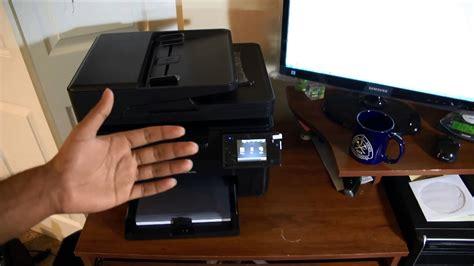 Printer Hp Laserjet Color Pro 100 M177fw hp laserjet pro mfp m177fw review