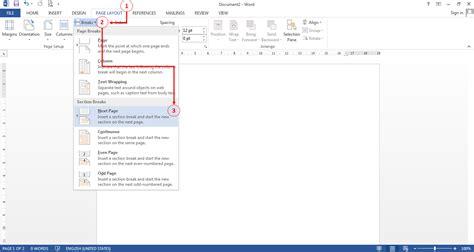 cara membuat nomor halaman di ms word 2013 cara membuat nomor halaman berbeda dalam satu dokumen di