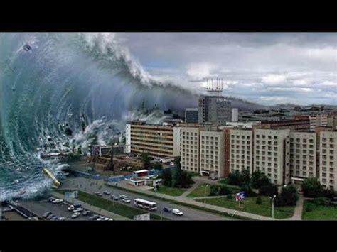 el tsunami fin del mundo y el gran tsunami rojo de australia youtube