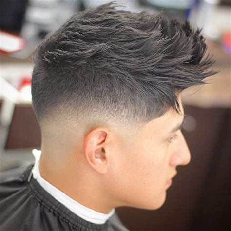 razor cut hairstyle with spiky on top what is razor fade best 20 razor fade haircuts and