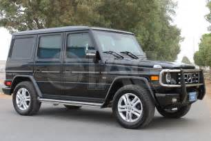 Mercedes G Wagon International Armored Mercedes G Wagon