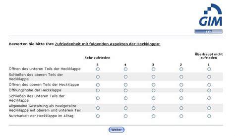 Motorrad Online Umfrage by Umfrage Bmw4 Bmw Umfrage Zum Thema Heckklappe Bmw X5