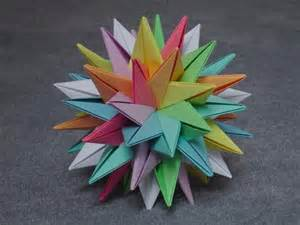 How To Make Modular Origami - math craft monday community submissions plus how to make