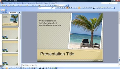 Travel Powerpoint Templates Microsoft Powerpoint Templates Tourism