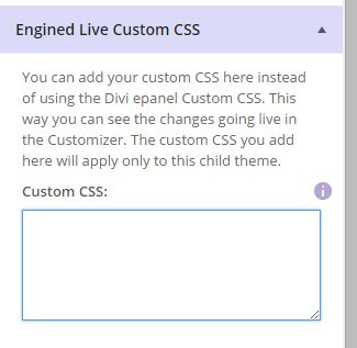 Handcrafted Css - getting started with engined legacy version divi4u