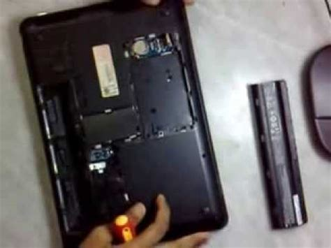 Hardisk Laptop Hp 1000 hp 1000 notebook disassembly by q4z1cr4ck3r p1