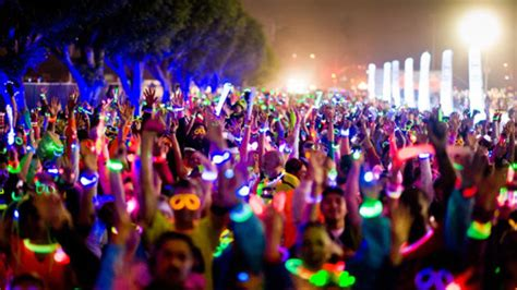 jual glow in the paint glow run adelaide 2013 adelaide