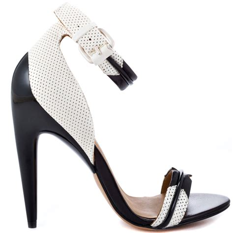 black and white sandals with heel jazmyn white black l a m b 294 99 free shipping