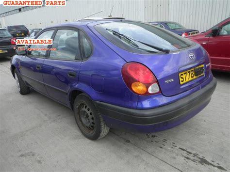Toyota Corolla 1998 Parts Toyota Corolla Breakers Corolla S Dismantlers