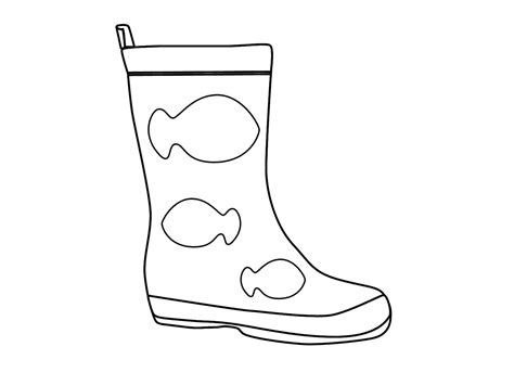 free coloring pages of a football boot