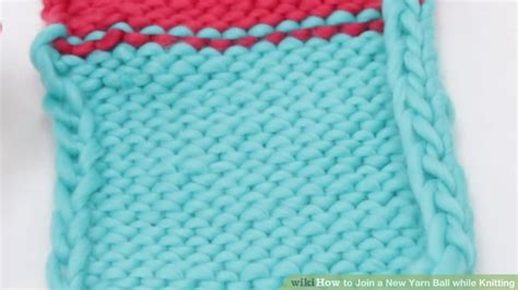 adding yarn when knitting how to join a new yarn while knitting 7 steps