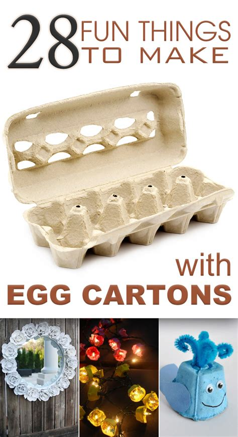 things to make with 28 things to make with egg cartons