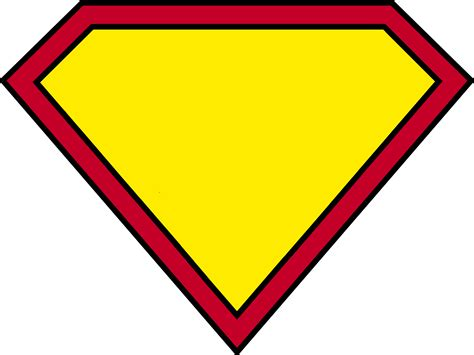 15 superman logo template images printable superman logo