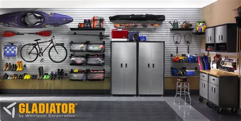 Garage Organization Gladiator Organizing Your Garage With Gladiator Garageworks Abt