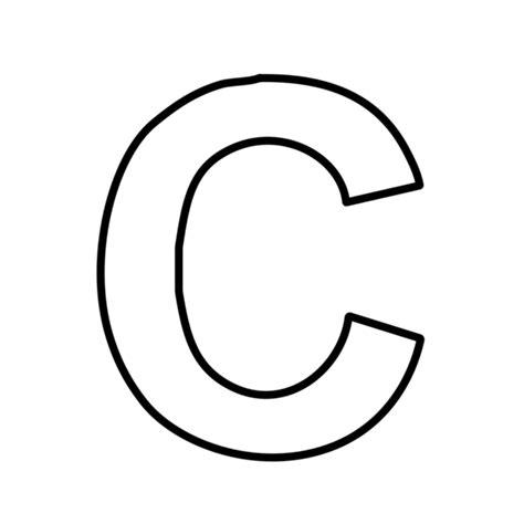 lettere in statello immagini lettere c sta disegno di lettera c a colori
