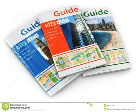 the guide to guides books travel guide books stock illustration image 44001359