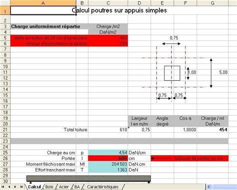 Calcul Charpente Bois Gratuit 4195 by Calcul Poutre Bois Zola Sellerie