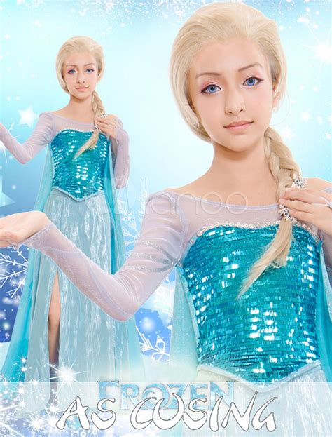 film avec elsa costume de elsa bleu du film la reine des neiges avec