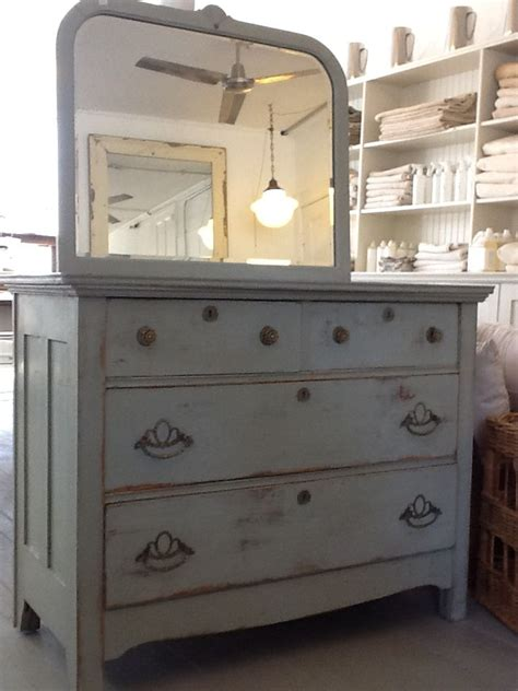 gray painted dresser the white flower farmhouse shop