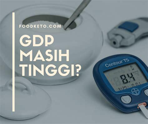 gula darah gdp   tinggi ketogenic diet