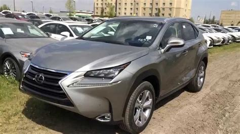 lexus atomic silver nx new atomic silver 2015 lexus nx 200t awd executive