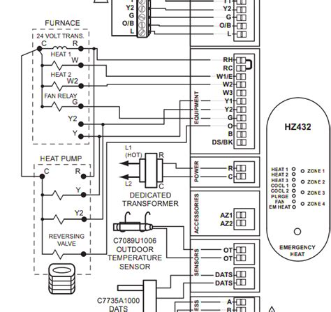 trane heat low voltage wiring diagram image