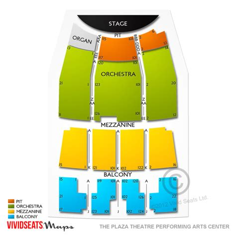 abraham chavez theatre seating chart the plaza theatre performing arts center seating chart
