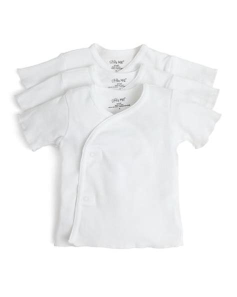infant snap shirts me infant unisex side snap shirt 3 pack sizes 3 9