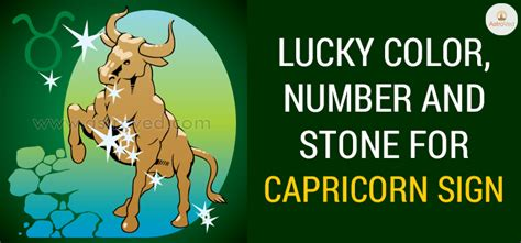 capricorn color capricorn lucky color capricorn lucky number capricorn