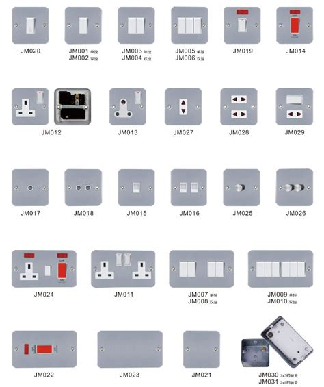 types of electrical switches for lights type wall light switch mk socket and switches