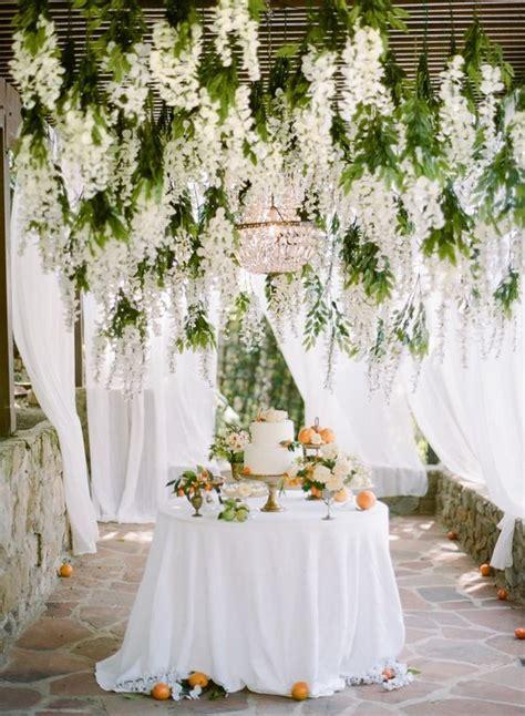 incredible hanging wedding flowers  girl weddings
