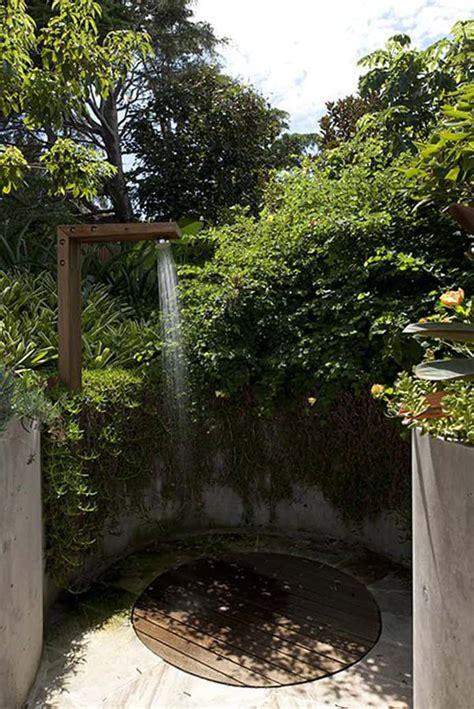outdoor bathrooms australia 20 irresistible outdoor shower designs for your garden