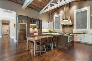 Best Designed Kitchens Beautiful Farmhouse Style Ranch Home Designed For Outdoor Living Modern House Designs