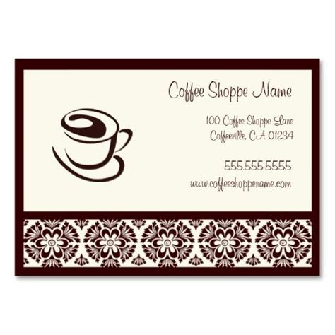 Punch Card Template For Bakery by 17 Best Images About Coffee Shop Business Cards On