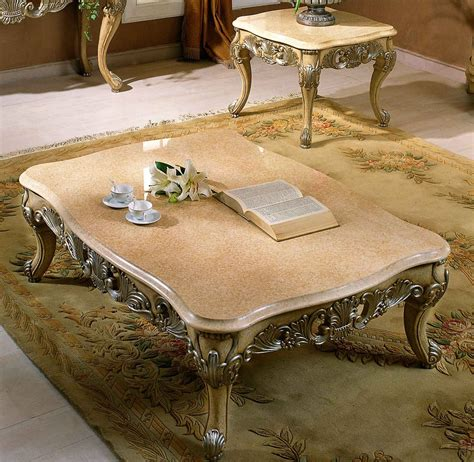 sullivan end coffee table w marble top coffee table
