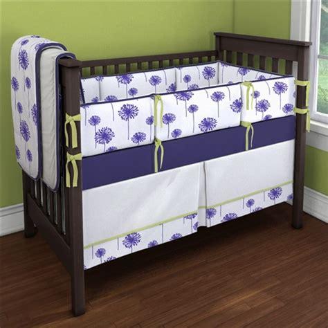 Purple Bedding For Cribs Purple Dandelions Custom 4 Crib Bedding Set Purple Dandelions Nursery Idea Carousel