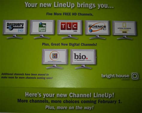 bright house channel lineup bright house adding five hd channels to orlando florida lineup