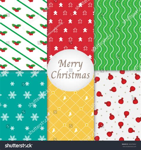 pattern merry christmas merry christmas pattern background collection stock vector