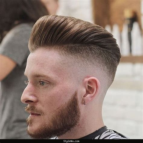 60s 70s high fade pomp mens haircut 40 top taper fade haircut for men high low and temple