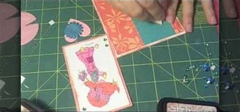 How To Make Pockets Out Of Paper - how to make a pocket card out of an envelope 171 papercraft