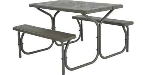 lifetime 4 foot table amazon lifetime 4 foot picnic table 99 99 regular price