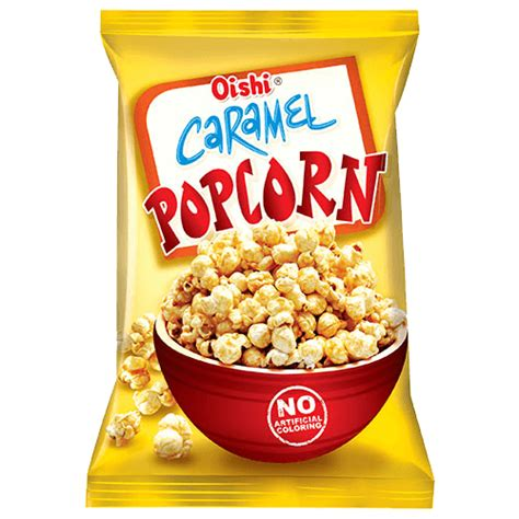 caramel popcorn oishi