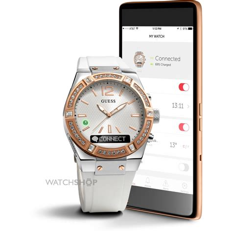 Smartwatch Guess unisex guess connect bluetooth hybrid smartwatch c0002m2 shop com