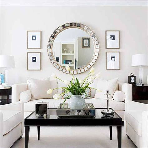 mirrors for your living room 9 easy ways to freshen up your living room so chic life