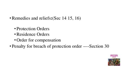 residence order section 8 domestic violence prevention and protection act